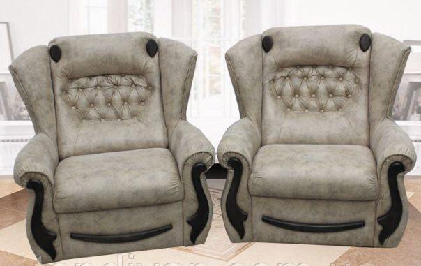Кресло Милан в ткани 3 кат (раскладное)