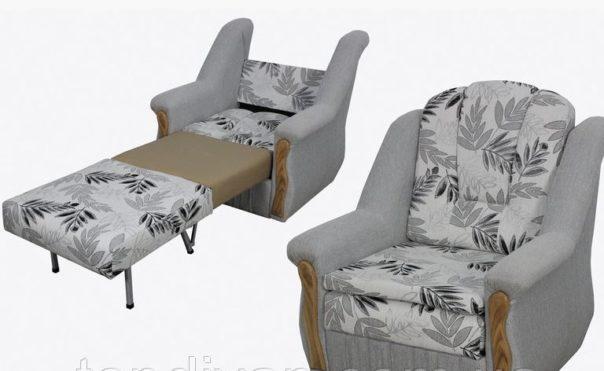Кресло София в ткани 3 кат (раскладное)